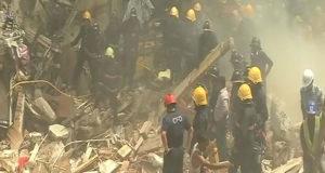 मुंबई  में 5 मंजिला इमारत गिरी 16 की मौत,  7 गंभीर