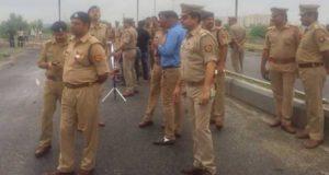 लखनऊ पुलिस ने एनकाउंटर में ढेर किया  इनामी बदमाश