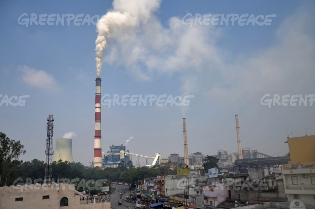 The locality of Darri, Korba and CSEB Hasdeo Thermal Power Plant. The populace, sandwiched between the CSEB and NTPC Thermal Power plants, is reeling under the pollution cased by the power plants.