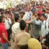 प्रदर्शन कर रहे पुलिस आरक्षी भर्ती अभ्यर्थियों पर लाठीचार्ज