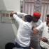 सपा कार्यकर्ताओं ने ओम प्रकाश राजभर के बंगले पर फेंके टमाटर