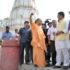 मुख्यमंत्री ने संत कबीर नगर में मगहर स्थित कबीर चैरा  में संत कबीर दास जी के समाधि स्थल का निरीक्षण किया