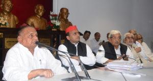 समाजवादी सरकार की उपलब्धियों को लेकर चुनाव में जाने पर जीत अवश्य मिलेगी—मुलायम सिंह यादव
