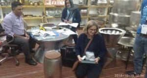 मुरादाबाद  एक्सपो मार्ट में विदेशी ग्राहकों का रेला, निर्यातकों के चेहरे खिले