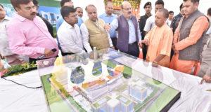 मुख्यमंत्री  ने एसजीपीजीआई में आधुनिक चिकित्सा सुविधाओं से युक्त 550 शैय्याओं के विस्तार किडनी ट्रांसप्लाण्ट सेण्टर का शिलान्यास किया